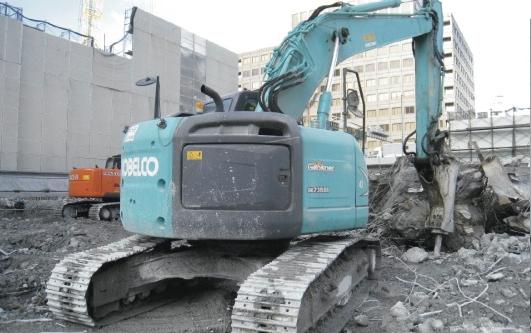 日経ビル解体工事の画像